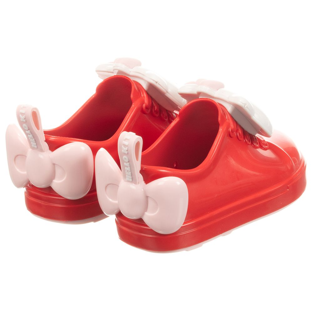 Mini Melissa - Red Hello Kitty Jelly Trainers | Childrensalon Outlet