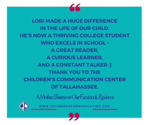 Quote. Lori made a great difference