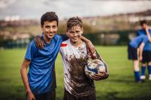 Dirty Soccer Player