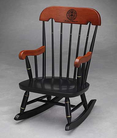 rocking chairs for children high dining room chair covers child s kids rocker childs with black lacquered finish