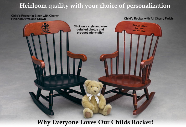 what is a rocking chair wassily breuer child s rocker childrens heirloom quality