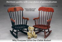 Child's Rocker, Childrens Rocking Chair, Heirloom Quality ...