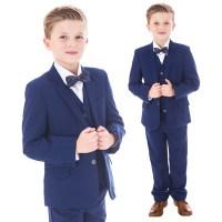 Royal Blue 5 Piece Bow Tie Suit | Baby | Boys | Wedding ...