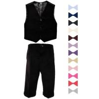 Boys Black 3 Piece Bow Tie Suit | Wedding | Formal ...