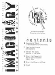 Lewis and Clark Play Script for Kids