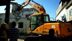 bulldozer eviction