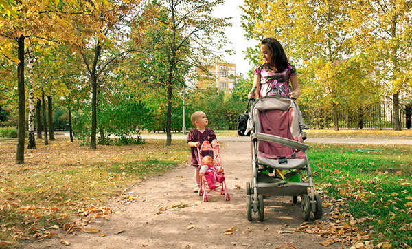 Is Your Child Ready for an Umbrella Stroller?