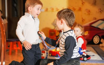 The pretend play game that will make your kids brave at the doctor
