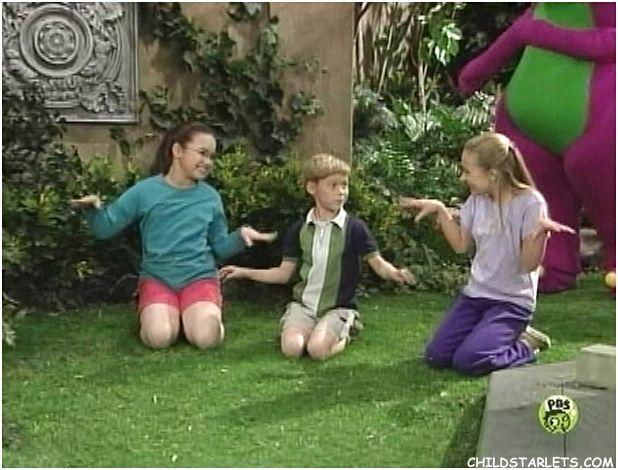 Hayden TweedieDemi LovatoBarney  Child Actresses