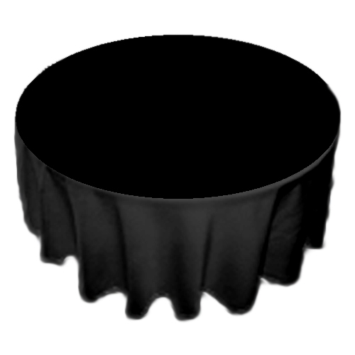 Black table cloth hire  Childwall Tables