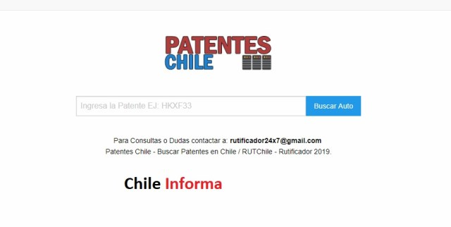 Patentes Chile