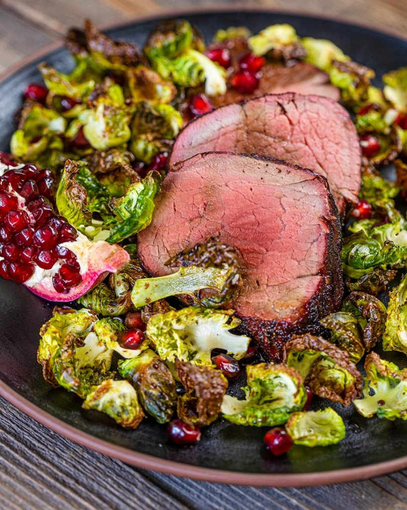 fresh flavors to enhance the southwest beef tenderloin