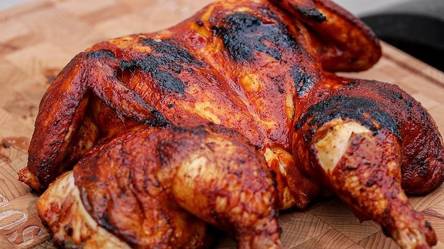Fiery Korean Chicken