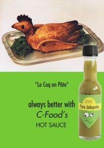 C-Food Kampagne Le Coq en Pate