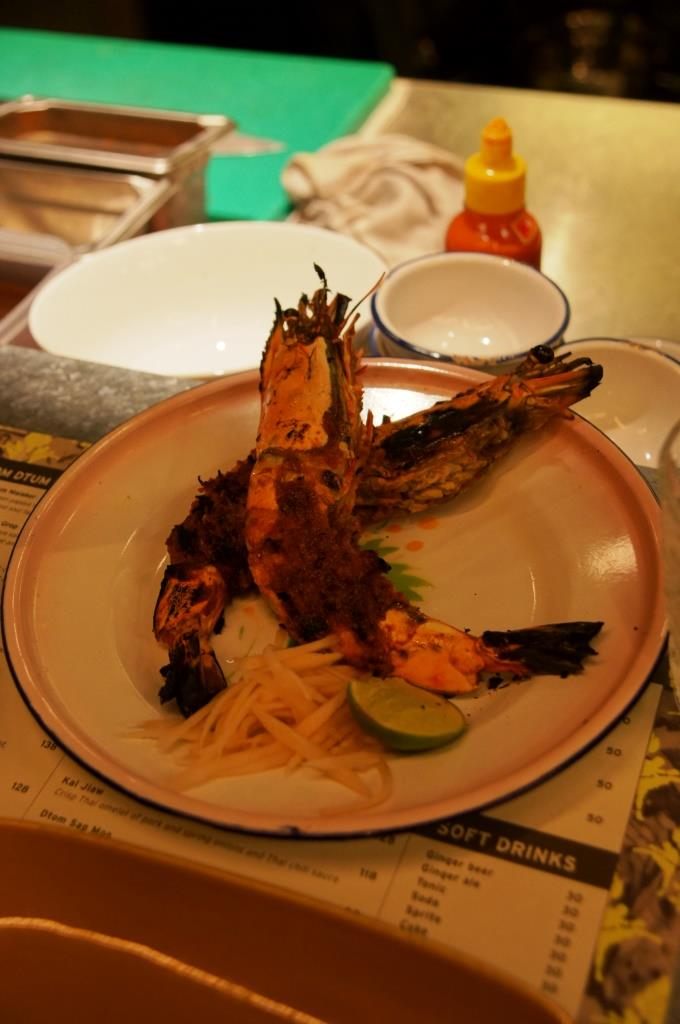 Chachawan: Riesen-Shrimps (Tiger Prawns)