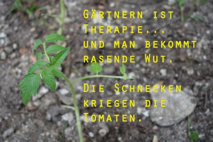 Gärtnern ist Therapie...?