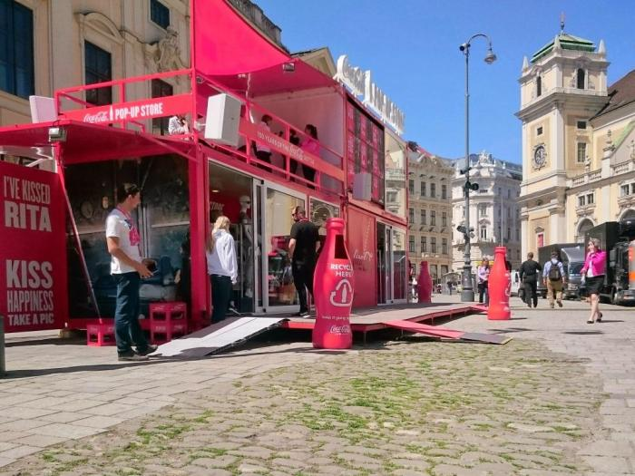 Coca-Cola Pop-Up Freyung