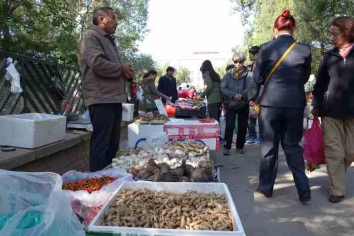 Lokaler Markt, Beijing Park
