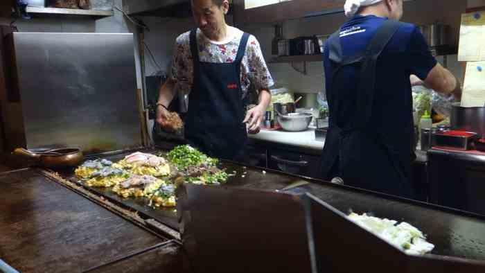 Kitchen of Houzenji Sanpei, Osaka