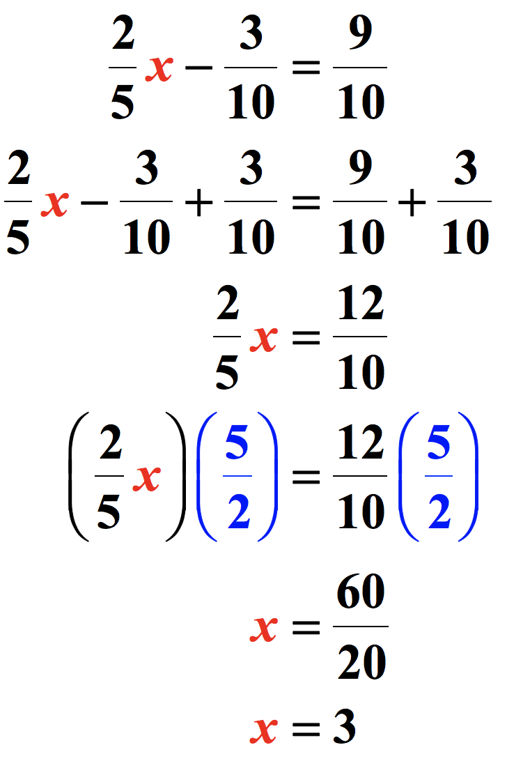 medium resolution of Solving Two-Step Equations - ChiliMath
