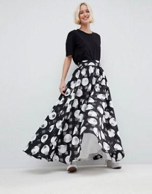 ASOS White Maxi Skirt £95.00
