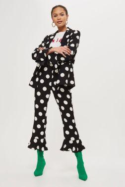 Topshop Spotty Suit £114.00