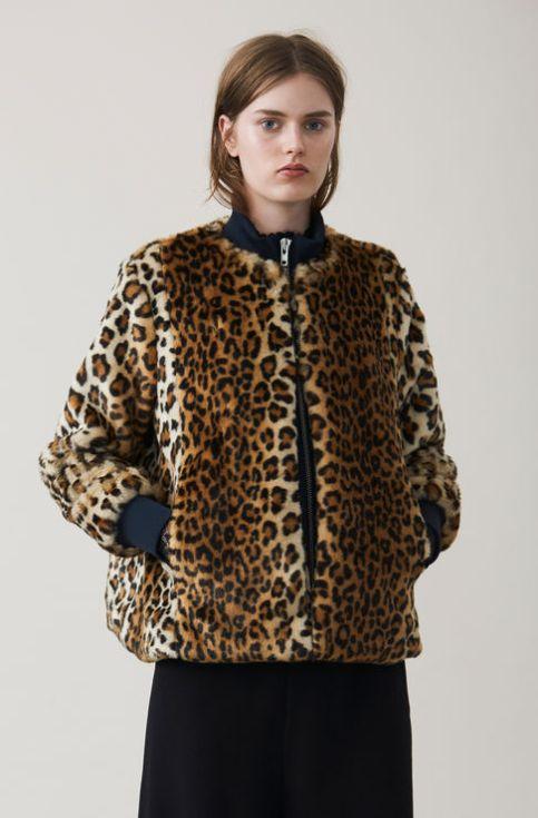 Ganni Faux Fur Jacket £295