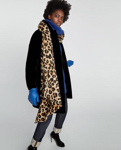 ZARA Animal print scarf £17.99