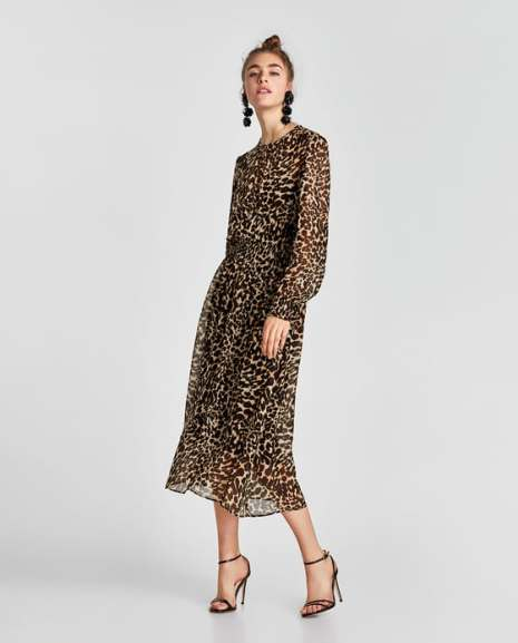 ZARA midi dress £69.99