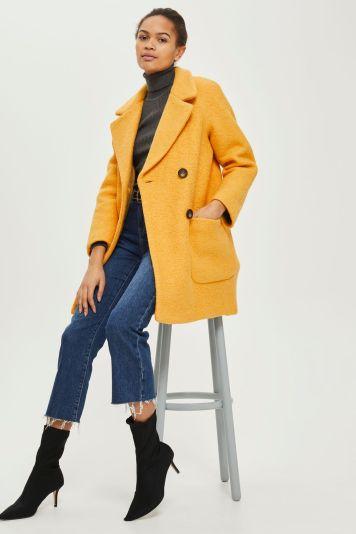 TOPSHOP Boucle Coat £85.00