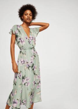 Flower print dress £59.99