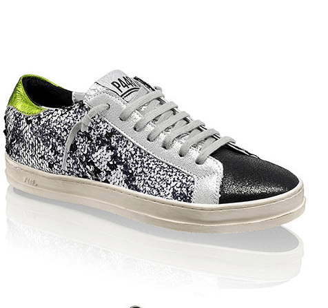 Russell & Bromley Black Sequin Sneaker £275
