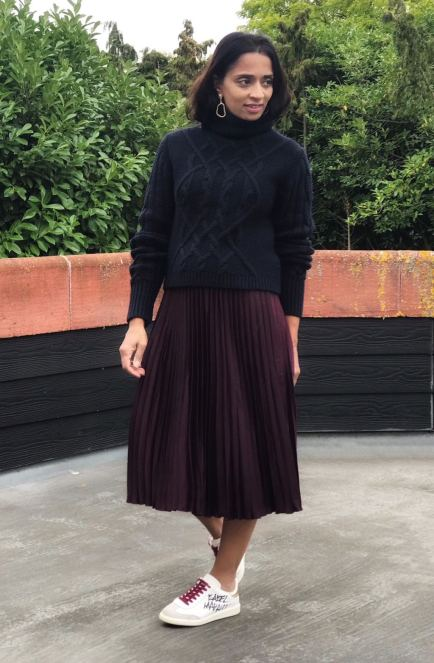 HM Pleated Skirt