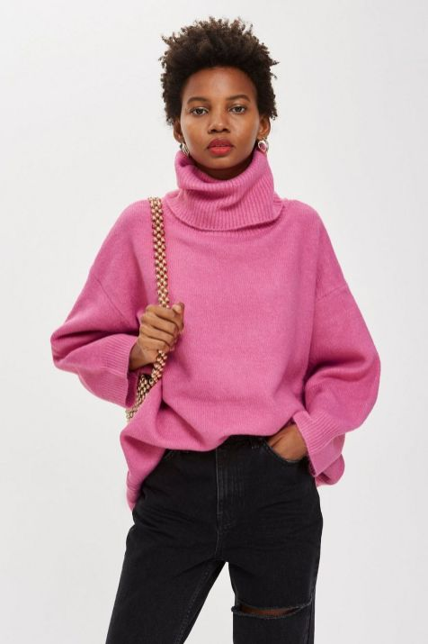 Topshop Oversized Roll Neck Jumper £39