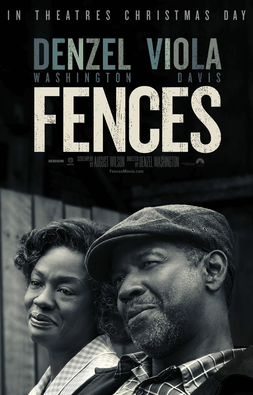 Fences - Best Oscar Movie Poster - Chilliprinting