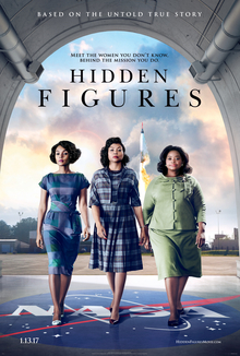 Hidden Figures - Best Oscar Movie Poster - Chilliprinting