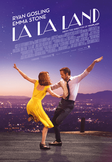 La La Land - Best Oscar Movie Poster - Chilliprinting