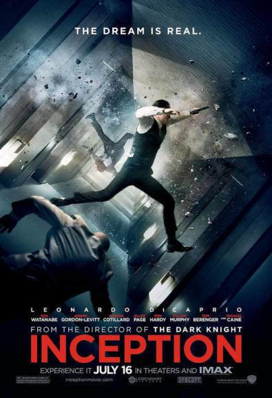 Inception Movie Poster - Types Of Posters