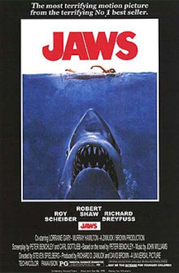 Jaws - Most Successful Posters in History - Chilliprinting