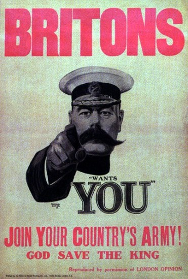 Lord Kitchener Wants You - Most Successful Posters in History - Chilliprinting