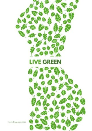 gogreen - typography trends - chillprinting