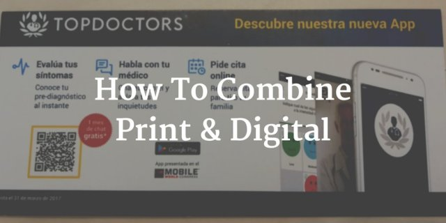 how to combine print and digital marketing - print marketing vs digital marketing - chilliprinting