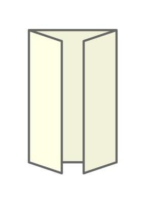 gate fold - types of brochure folds - chilliprinting
