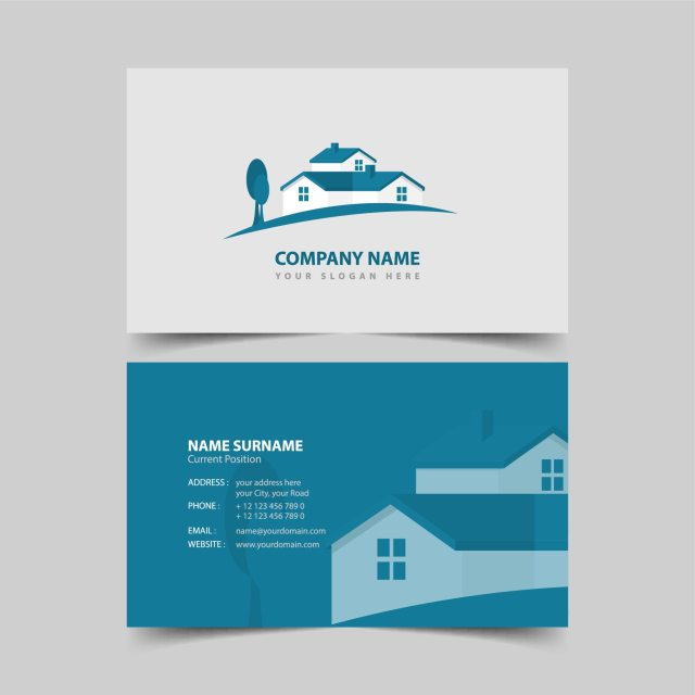 real estate businses cards - 7 Must-Have Real Estate Marketing Materials - Chilliprinting