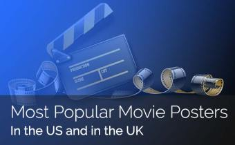 The Most Popular Movie posters in the US and UK