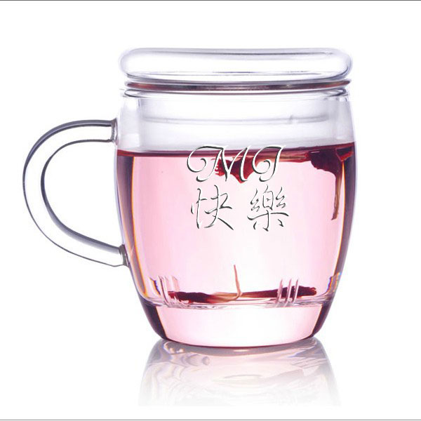personalized engraved glass tea
