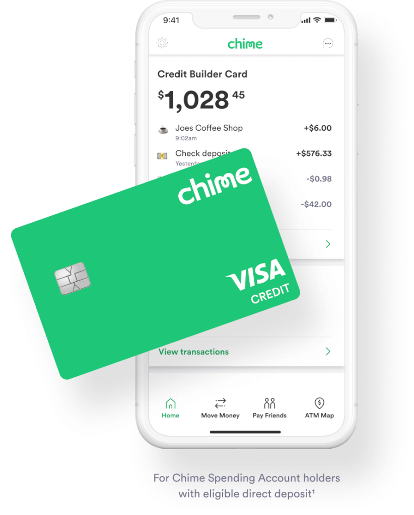 During the month, you can borrow against that money and build credit that way. Chime Credit Builder Build Credit With Everday Purchases