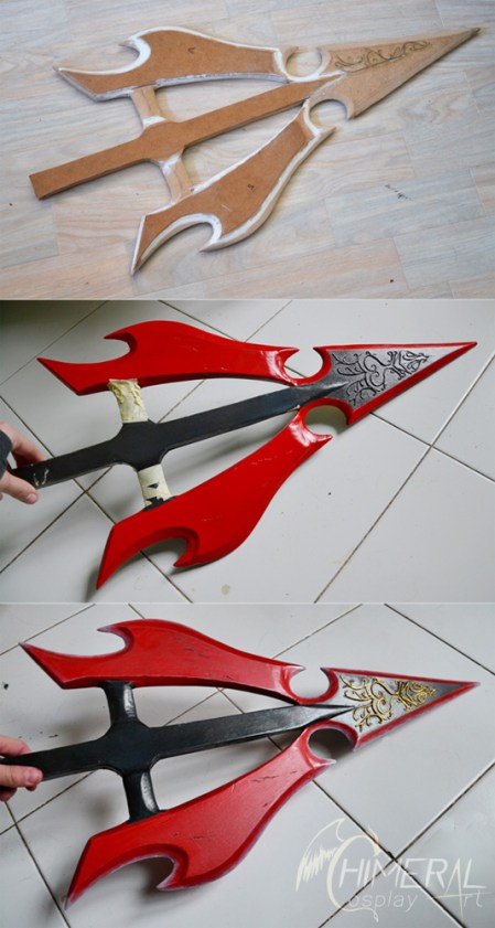 Nine cosplay spear - FF Type0