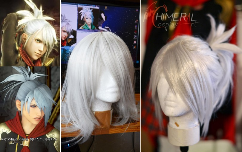Sice cosplay wig - FF Type0