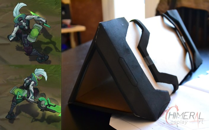 Ekko Project Zdrive from the game League of Legends. Comission by Chimeral CosplayArt